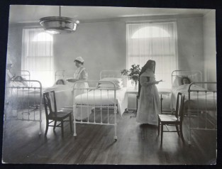 Patients at St. Mary's Hospital