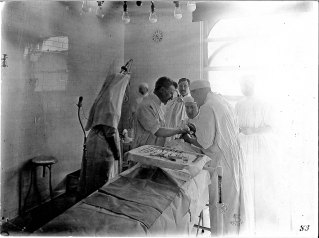 Operating Room at St. Mary's Hospital