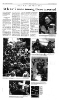 SOA Watch Protest Article, Columbus Ledger-Enquirer