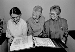 Sisters review the Book of the Founding
