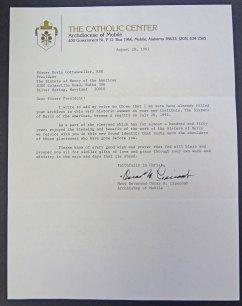 Archbishop of Mobile Letter