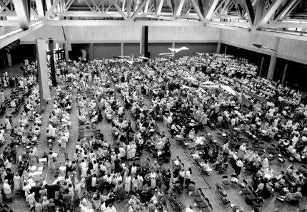 Sisters fill the Convention Center